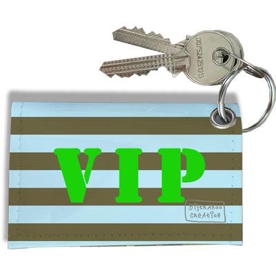 Porte-clés carte Pass VIP, Etui porte-clés carte Pass VIP Réf. 952