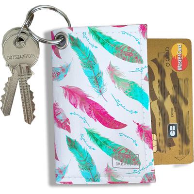Porte-clés Pratique pour Cartes & Photos Femme (4007)
