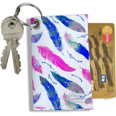 Porte-clés Pratique pour Cartes & Photos Femme (4008)
