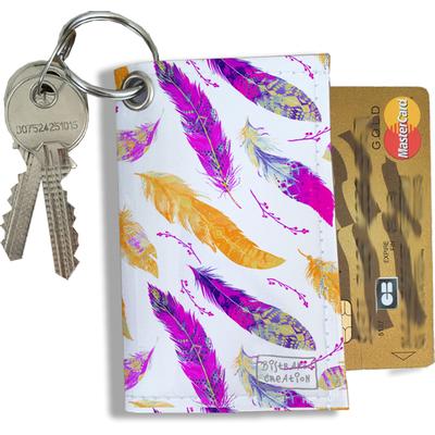 Porte-clés Pratique pour Cartes & Photos Femme (4009)