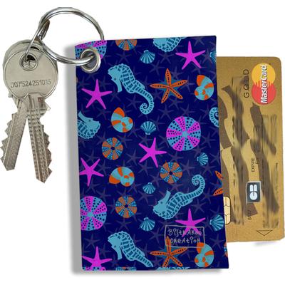 Porte-clés Pratique pour Cartes & Photos Femme (4010)