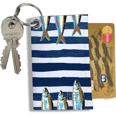 Porte-clés Pratique pour Cartes & Photos Femme (4016)