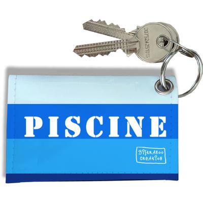 Porte-clés Carte de Piscine, Etui Porte-clés Carte de Piscine Réf. 940