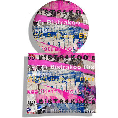 Miroir de Poche avec étui, Miroir de Maquillage Bistrakoo graffitis 2290