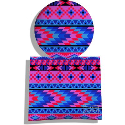 Miroir de Poche avec étui, Miroir de Maquillage Ethnic multicolore 2264