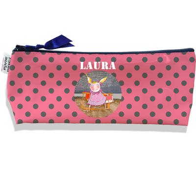 Trousse scolaire personnalisée enfant fille, Trousse école primaire, Trousse à Crayons Coloris rose H0308