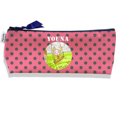 Trousse scolaire personnalisée enfant fille, Trousse école primaire, Trousse à Crayons Coloris rose I0408