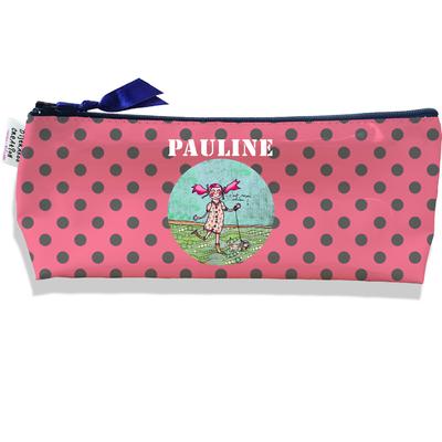 Trousse scolaire personnalisée enfant fille, Trousse école primaire, Trousse à Crayons Coloris rose I1209