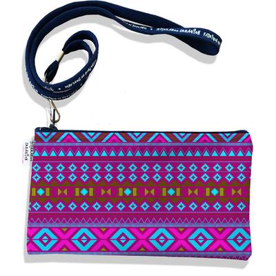 Pochette smartphone 5 & 6 pouces femme Aztec multicolore 2506