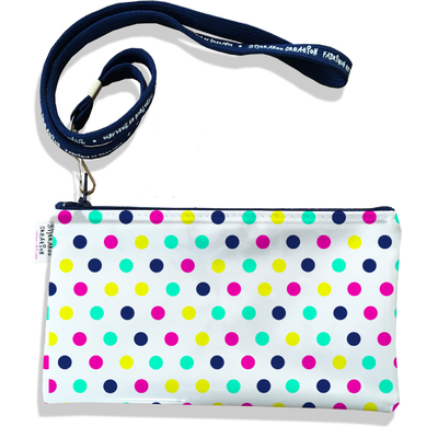 Pochette smartphone 5 & 6 pouces femme Pois multicolores 2421