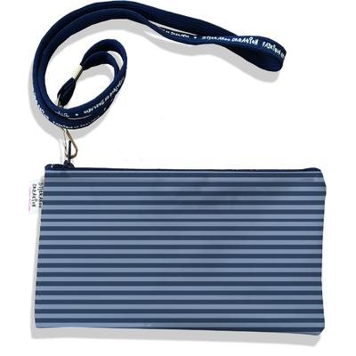 Pochette smartphone 5 & 6 pouces homme Marinière bleue 3005