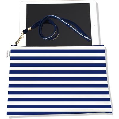 Housse pour tablette Marinière bleu marine 2377-2016