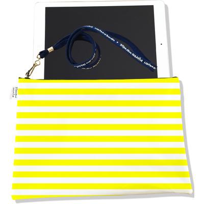 Housse pour tablette Marinière jaune 2378-2016
