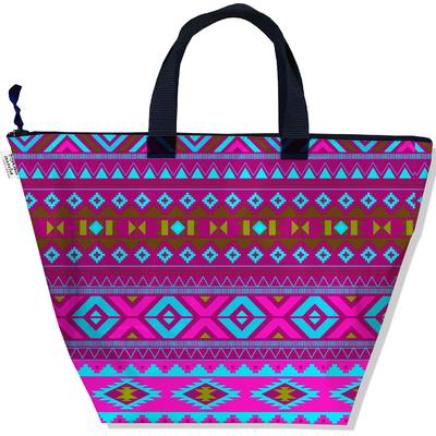 Sac à main zippé pour femme Aztec multicolore 2506