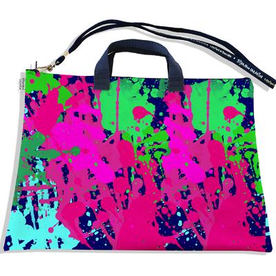 Sacoche ordinateur portable 11 & 13 pouces Peinture multicolore 2567