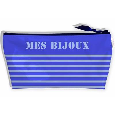 Trousse à bijoux pour le voyage, Trousse de rangement Mes Bijoux, Pochette à bijoux T9021