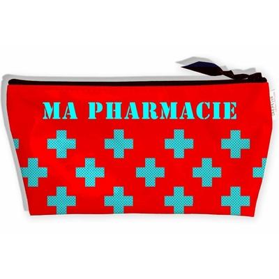 Trousse à pharmacie de voyage, Trousse de Premiers Secours Trousse de rangement Ma Pharmacie, Trousse d'urgence (Pas D'ACCESSOIRES Inclus) T9012