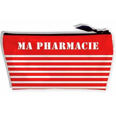Trousse à pharmacie de voyage, Trousse de Premiers Secours Trousse de rangement Ma Pharmacie, Trousse d'urgence (Pas D'ACCESSOIRES Inclus) T9023