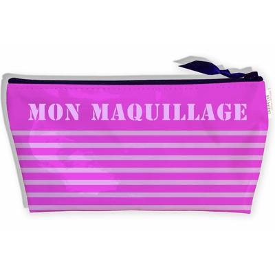 Trousse de Maquillage Femme, Trousse de rangement Cosmétiques soins du visage, Pochette à Maquillage voyage Vacances (Pas D'ACCESSOIRES Inclus) T9025