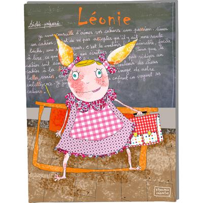 Tableau décoratif personnalisé pour chambre de bébé enfant fille, montée sur châssis en bois, dim. l. 30 x H. 40 cm, Réf. H0308-2008
