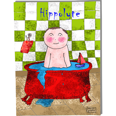 Tableau décoratif personnalisé pour chambre de bébé enfant garçon, montée sur châssis en bois, dim. l. 30 x H. 40 cm, Réf. A5810-2010