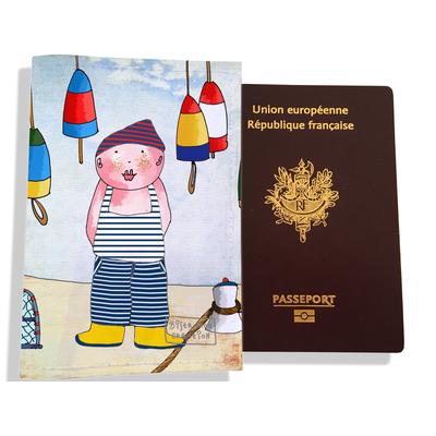 Protège passeport garçon enfant Petit marin Z0109
