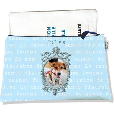 Protège Carnet de Santé personnalisable zippé pour chien CSZ778-2019