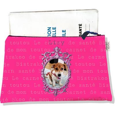 Protège Carnet de Santé personnalisable zippé pour chienne CSZ2263-2019