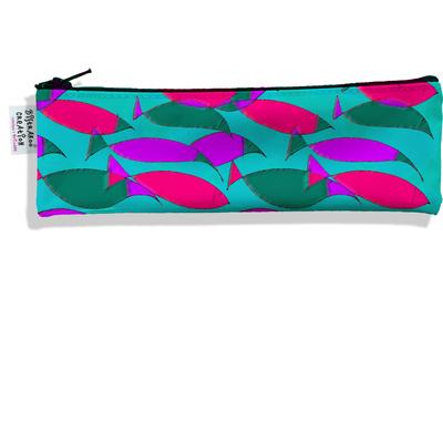 Trousse à brosse à dents pour femme Banc de poissons