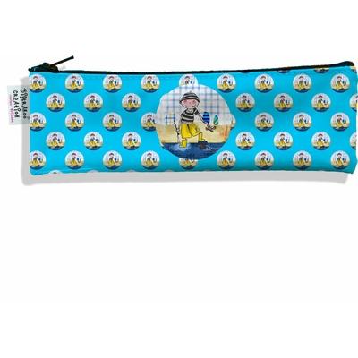 Trousse à brosse à dents Coloris bleu motif enfant Garçon D800