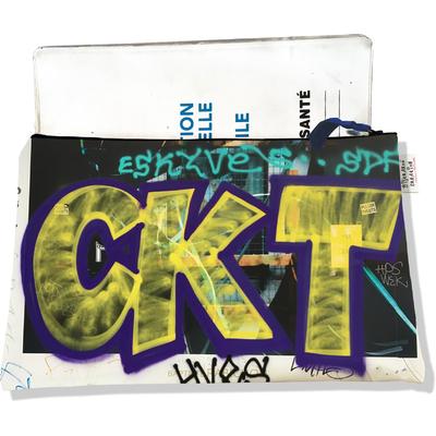 Protège carnet de santé zippé pour femme Street art PC6021