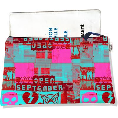 Protège carnet de santé zippé pour femme Street art PCZ6022