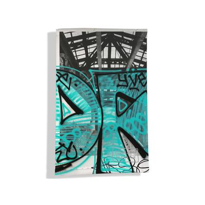 Porte carte grise pour femme Street art PCG6020