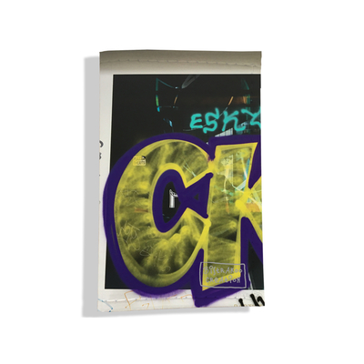 Porte carte grise pour femme Street art PCG6021