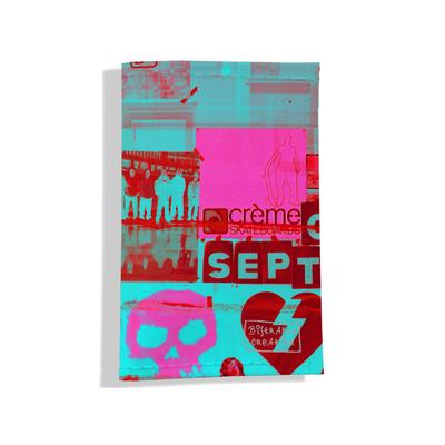 Porte carte grise pour femme Street art PCG6022