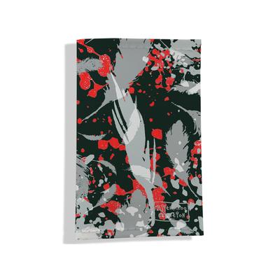 Porte carte grise pour femme Plumes grises PCG6025