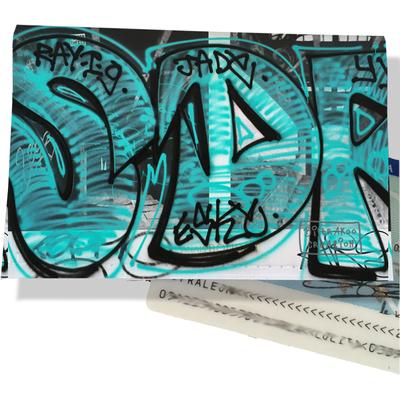 Porte carte d'identité pour femme Street art PCI6020