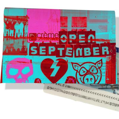 Porte carte d'identité pour femme Street art PCI6022