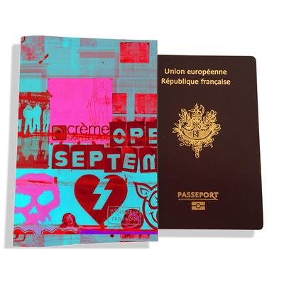 Protège passeport pour femme Street art PP6022