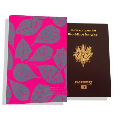 Protège passeport pour femme Feuillage PP6024