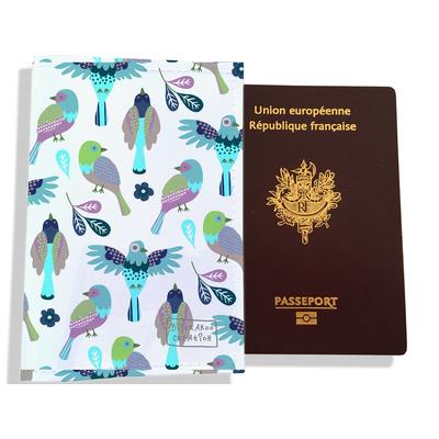 Protège passeport pour femme Oiseaux PP6028