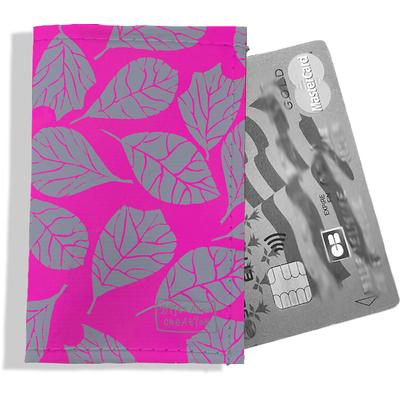 Porte-carte bancaire femme Feuillage PCB6023