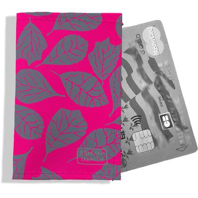Porte-carte bancaire femme Feuillage PCB6024