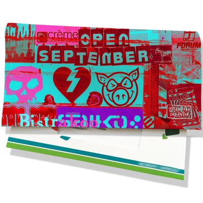 Porte-chéquier pour femme Street art PCP6022