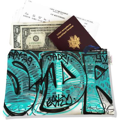 Pochette voyage, porte documents Street art PV6020