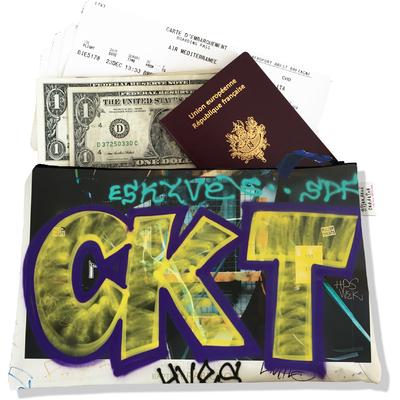 Pochette voyage, porte documents Street art PV6021