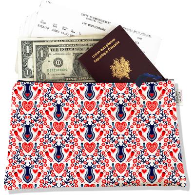 Pochette voyage, porte documents Scandinave 3229-2017