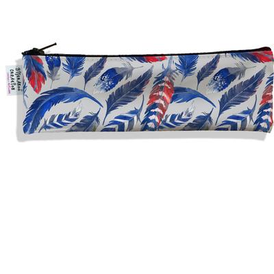 Trousse à brosse à dents Plumes bleues TBD6026