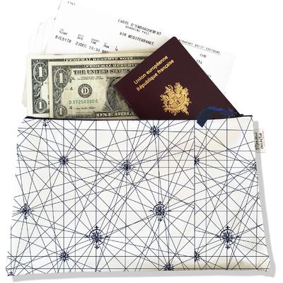 Pochette voyage , porte documents PV2137
