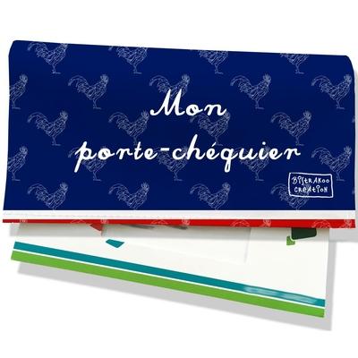 Porte-chéquier Bleu marine Collection Française